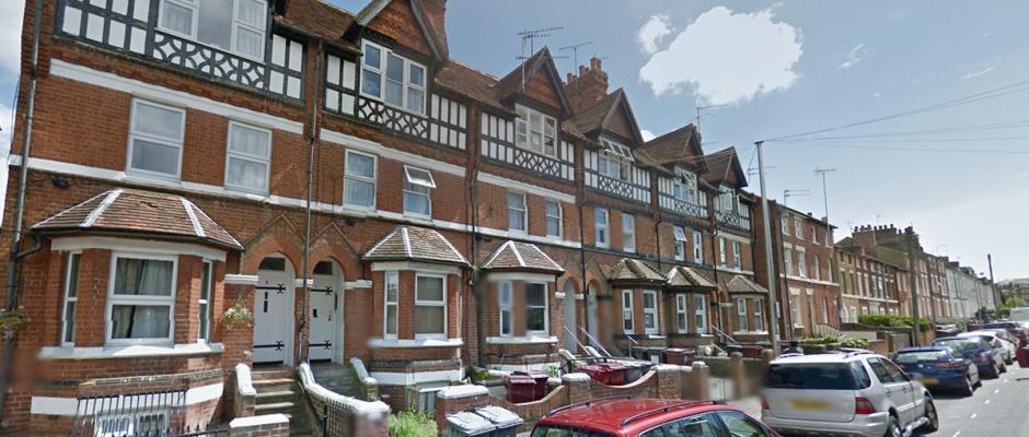 Waylen Street in Reading, where David Pickering was murdered