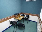 West Midlands Police interview room
