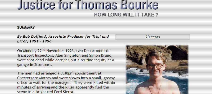 Justice for Thomas Burke screenshot