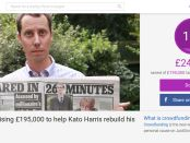 Kato Harris' JustGiving page